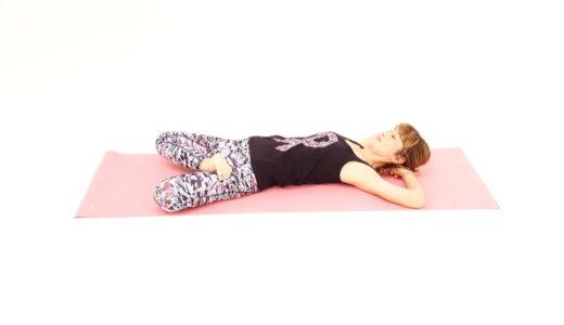 「寝ながら股関節ストレッチ」で身体のこわばりを気持ちよく解消