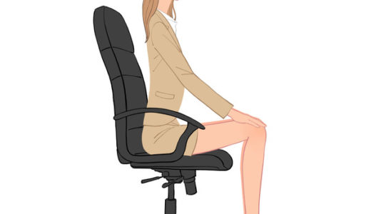 座りながらストレッチ!オフィスで簡単に脚のむくみを解消!